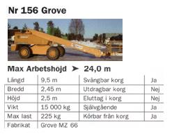 Grove 24m – Självgående